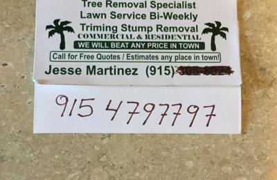 Jesses A-1 Tree Service - El Paso, TX