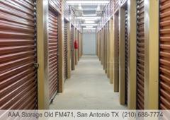 AAA Storage Old FM471   San Antonio, TX