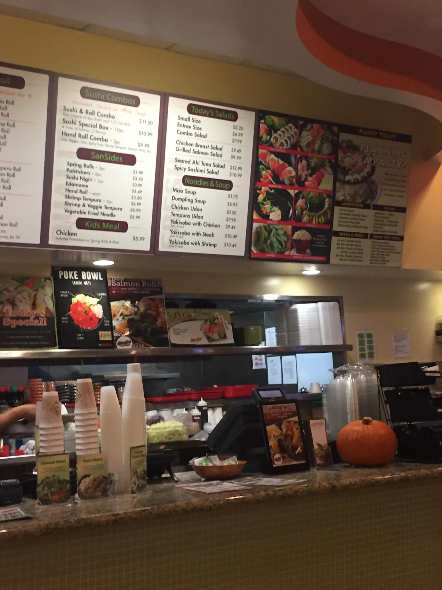 SanSai Japanese Grill 2575 N Hollywood Way Ste 107, Burbank