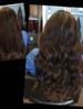 Nano microbead hair extensions