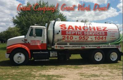 Sanchez septic services - Elmendorf, TX