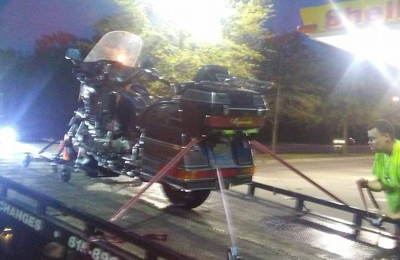 White's Towing & Recovery - Murfreesboro, TN. Safe, damage free motorcycle towing