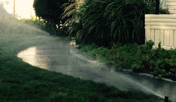Morning Dew Lawn Sprinklers Inc. - White Plains, NY. Just finished another Lawn Sprinkler Installation in White Plains, NY.