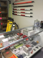Our storefront is stocked with many items you need to get the job done and we offer even more products online!