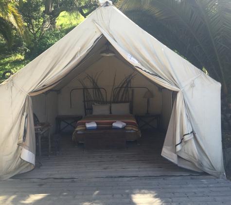 El Capitan Canyon - Goleta, CA. Safari tent