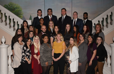 Family Dental Care - Evergreen Park, IL. 2018 Staff Photo with our Evergreen Park dental team
