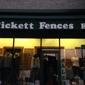 Pickett Fences - Los Angeles, CA. Signage
