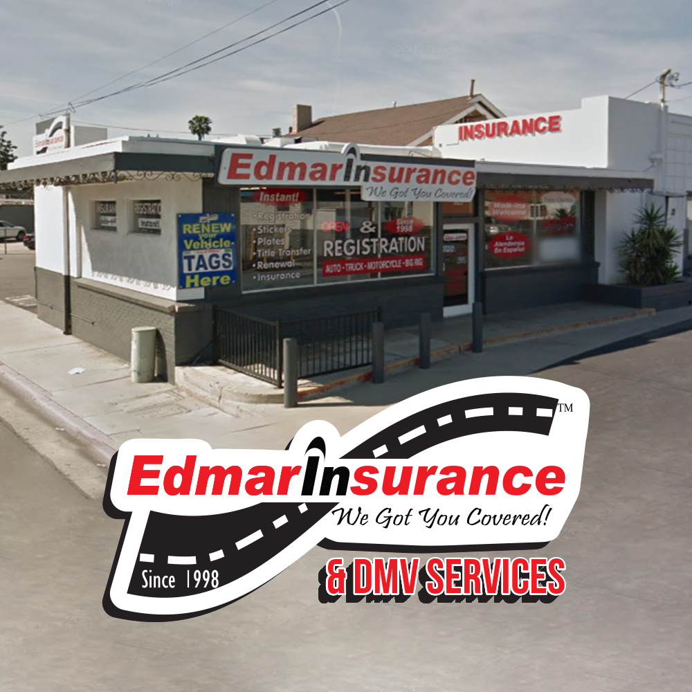 Edmar Insurance and DMV Services 3827 Jurupa Ave, Riverside