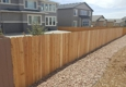 Fence Masters - Oklahoma City, OK. Stander 6ft cedar 5/8 thick 2/4 backing