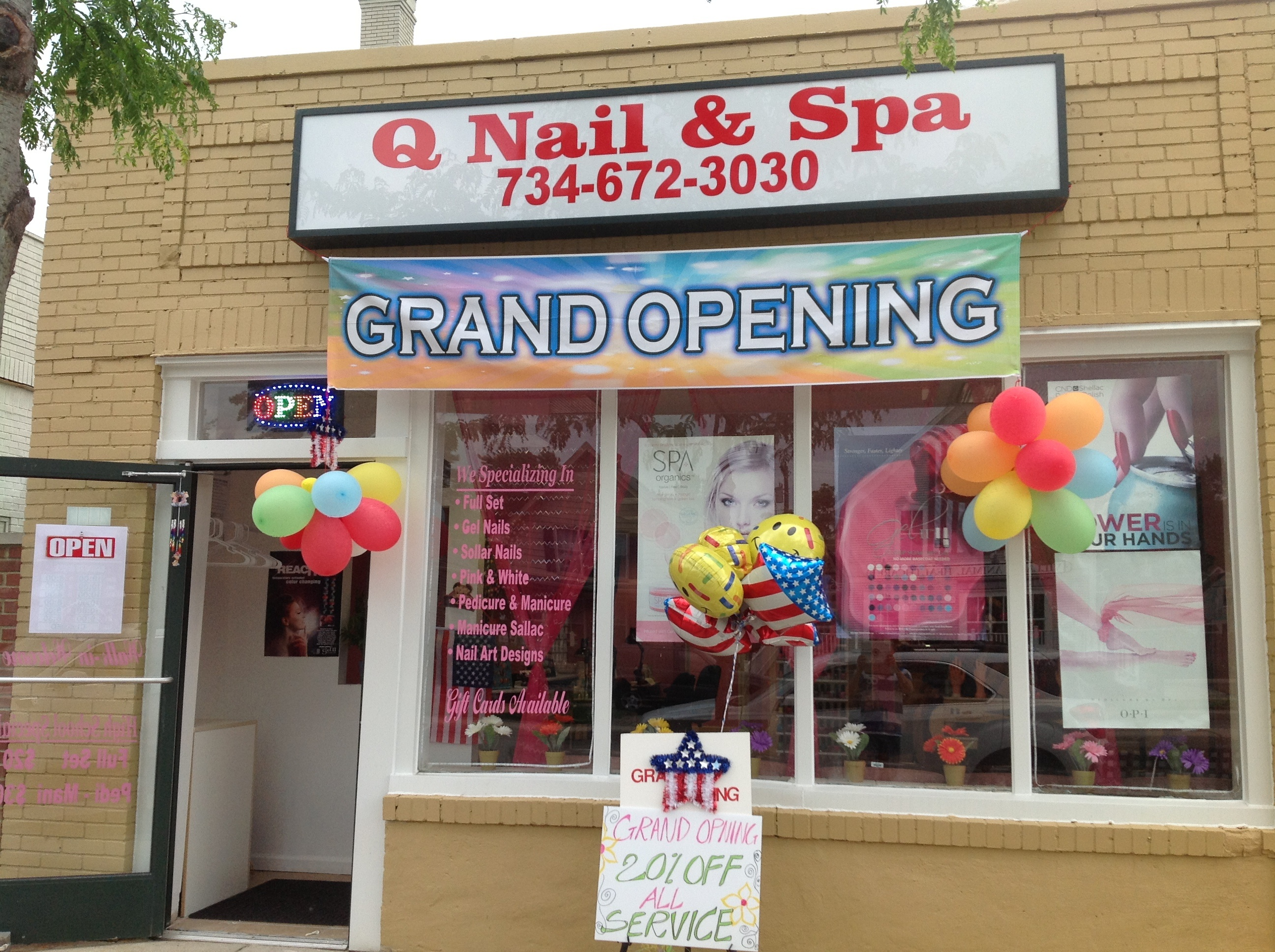 Q Nails & Spa 2455 W Jefferson ave, Trenton, MI 48183 - YP.com