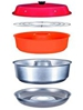 Omnia Stove Top Oven with Rack and Silicone Liner - great for boating, camping or backpacking