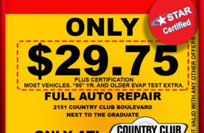 Country Club Tires & Muffler 2151 Country Club Blvd