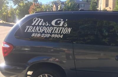 Mrs. G's Transportation - Asheville, NC