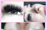 Volume eyelash extensions.