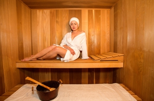 Dry Sauna at Lana's Organic Day Spa in New Jersey