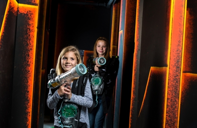 Laser Quest - Akron, OH