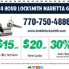 24 hour locksmith Marietta