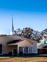 Sunday School 10 am Worship 11 amMid-week prayer service /Bible study 6 pm Wednesday