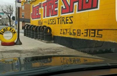 Joel's tire shop - philadelphia, PA