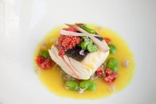 Salt House fish dish