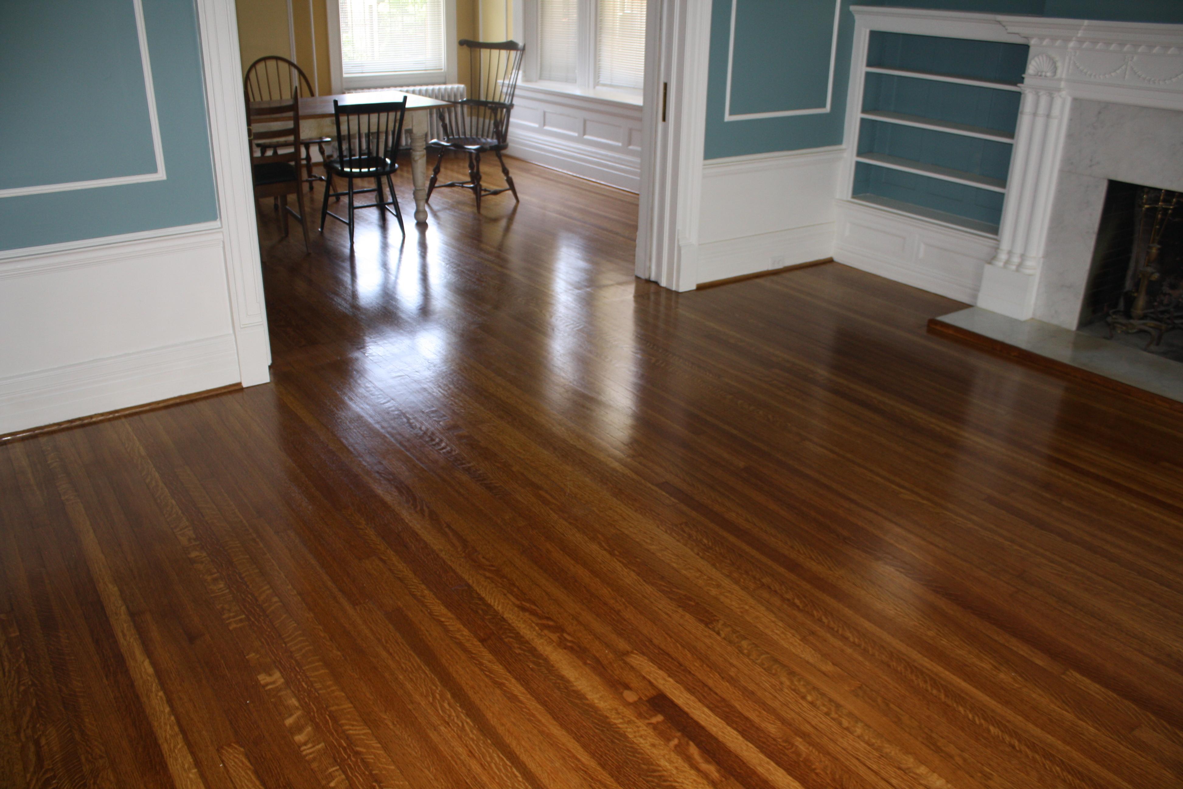 Wood Flooring Jobsite Finished White Oak In St Charles Mo Hardwood Louis