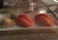 Ichiban - Glendale, CA. Salmon sushi 3 dollars per pair. Yum!