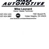 Mike's Automotive