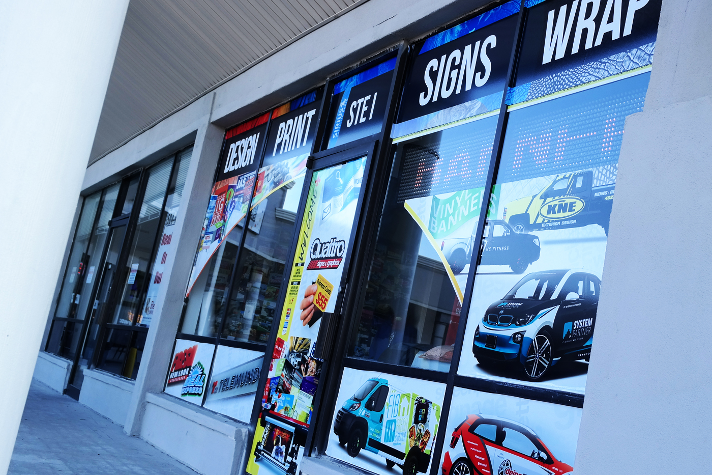 Quattro signs and graphics 4345 williams blvd kenner la 70065 yp reheart Choice Image