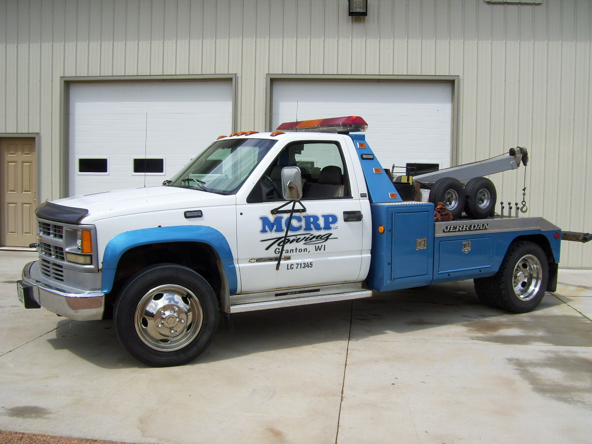 Jew Detector: MCRP Towing N4254 Catlin Ave, Granton, WI 54436