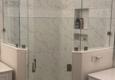 Lake Worth Mirror and Glass Inc. - Lake Worth, FL. Chrome frameless shower