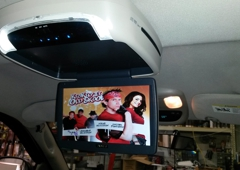 Redline Audio & Performance - Spindale, NC. Flipdown TV/DVD Combo Unit