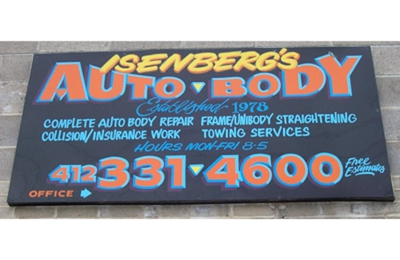 Isenberg's Auto Body - Mc Kees Rocks, PA
