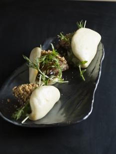 Lamb belly buns at Dirty Habit