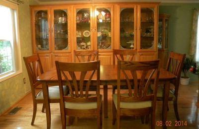 Beau Custom Home Furniture Galleries   Wilmington, NC. Solid Wood Dining Room Set