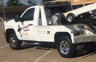 Blessed towing and roadside assistance - Katy, TX