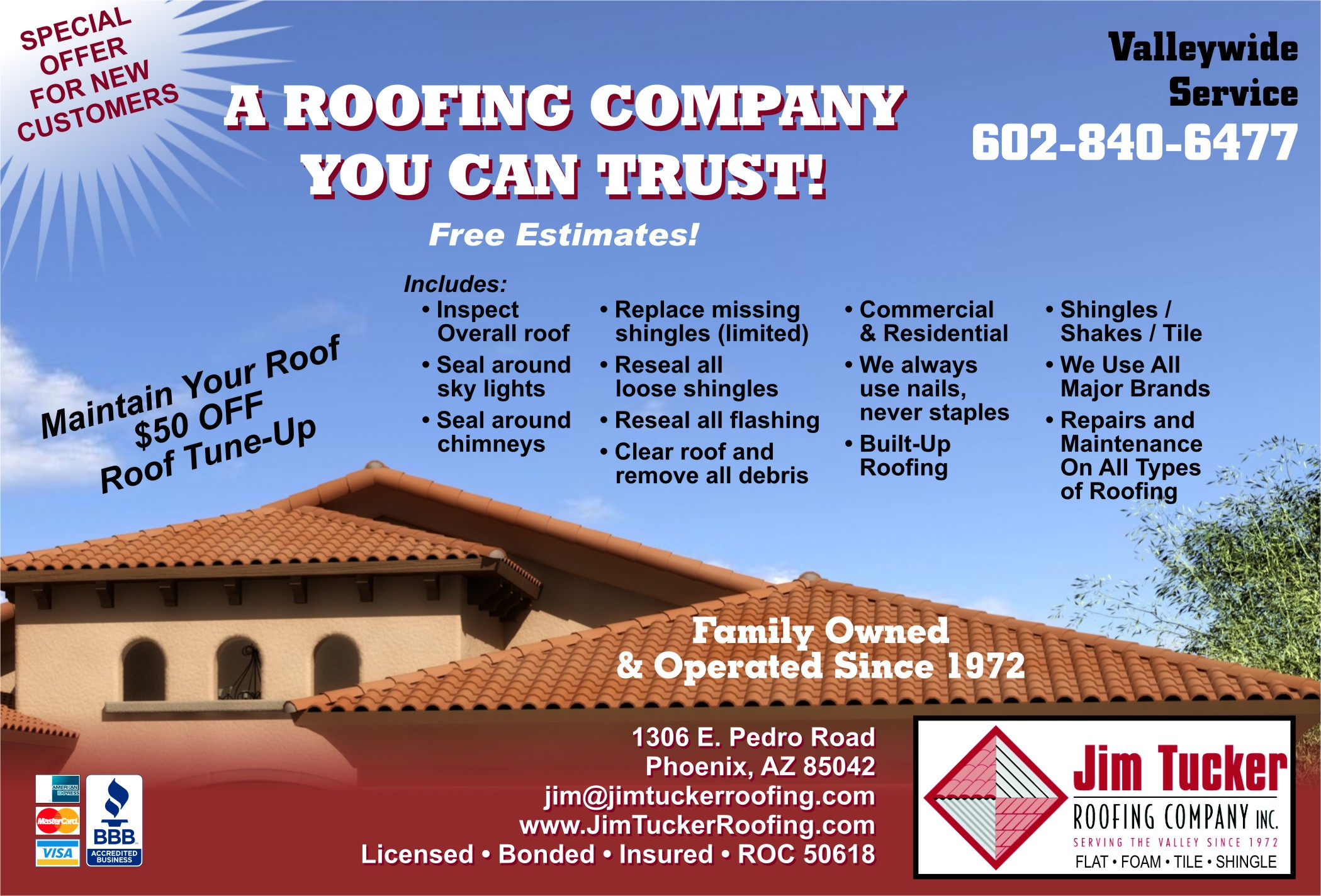 Top Roofing Contractors In Phoenix, AZ