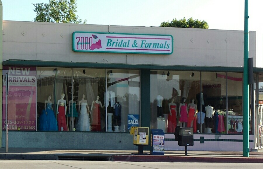 03c3302d9774 2000 Dreams Bridal 9579 Las Tunas Dr, Temple City, CA 91780 - YP.com