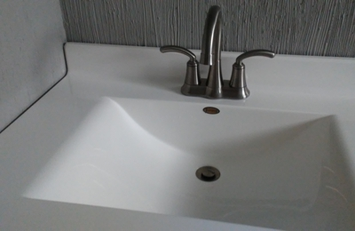 R.J. Kielty Plumbing, Heating And Cooling Inc.. New bathroom sink