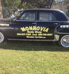 Monrovia Body Shop & Wrecker Service Inc - Madison, AL