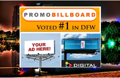 Promo Billboard Dallas Fort Worth - Dallas, TX