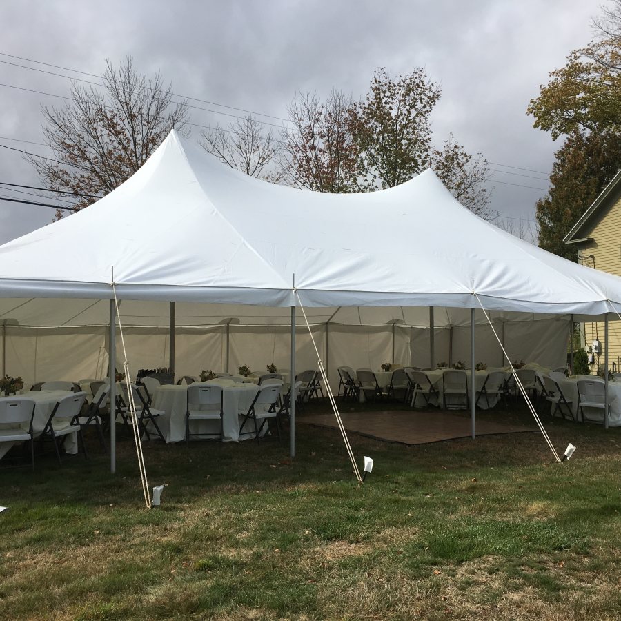 high-peak tent be customized as per your specific requirements.