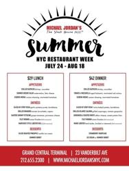 Michael Jordan's The Steak House N.Y.C.