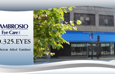 D Ambrosio Eye Care Inc Athol Ma