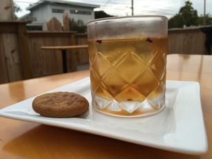 Gingerbread Old Fashioned at Embers Ski Lodge
