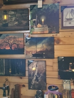 Lighted wall decor