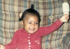 Dr. James P. DeRossitt III., M.D. - Forrest City, AR. Baby Monica 8 months; Now, Dr. Monica Brown (Clinical)