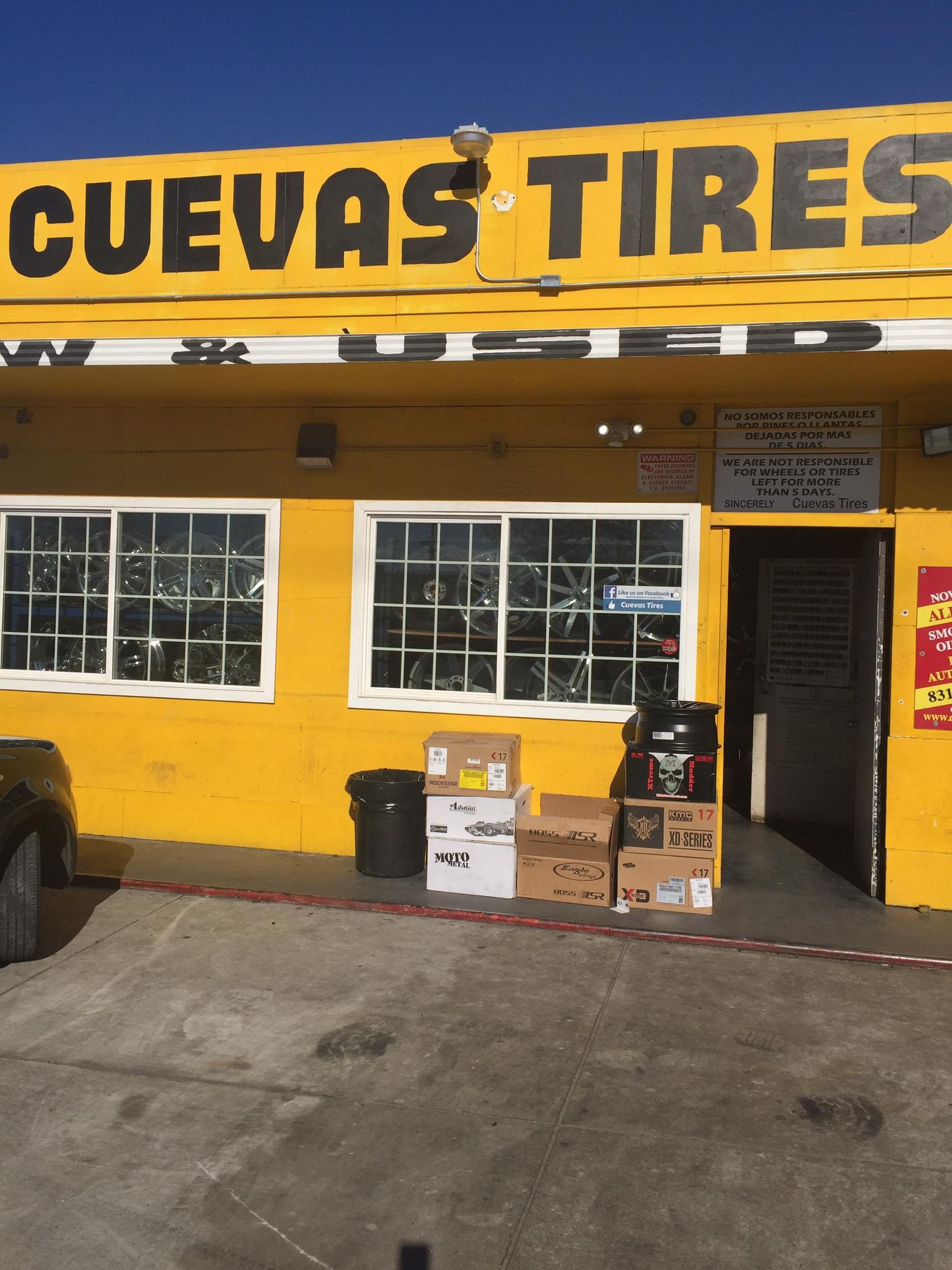 Cuevas Tires 601 E Alisal St Salinas Ca 93905 Yp Com