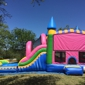 Bounce 4Fun Party Rentals. Wet/dry 5 in 1 castle slide combo (Sunrise)