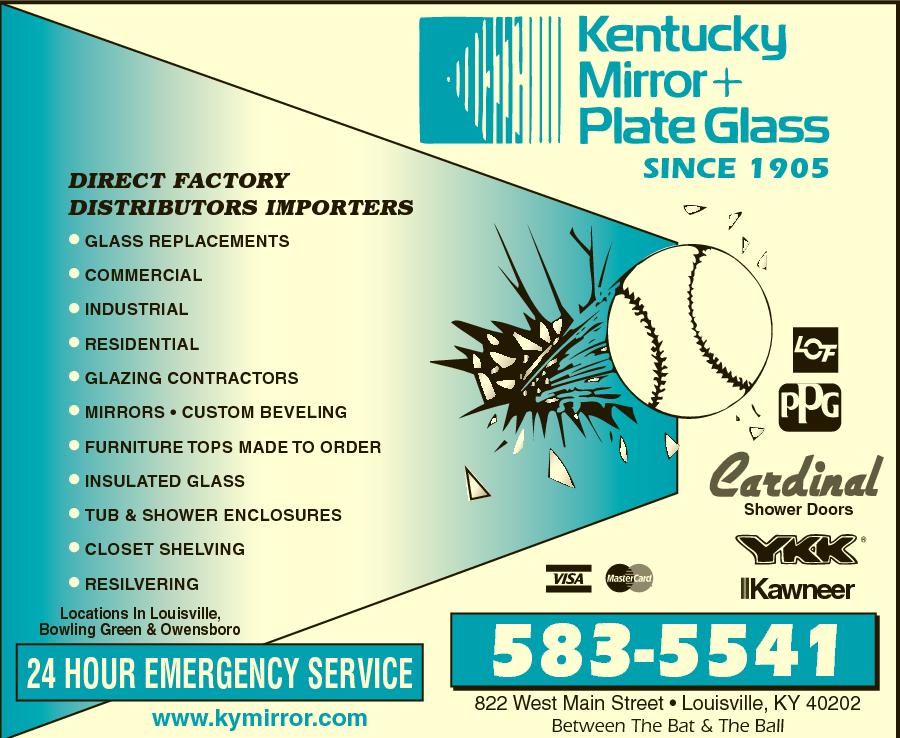 Kentucky Mirror Plate Glass 822 W Main St Louisville Ky 40202