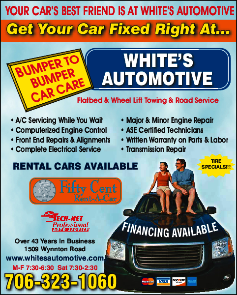 White's Automotive Center 1509 Wynnton Rd, Columbus, GA